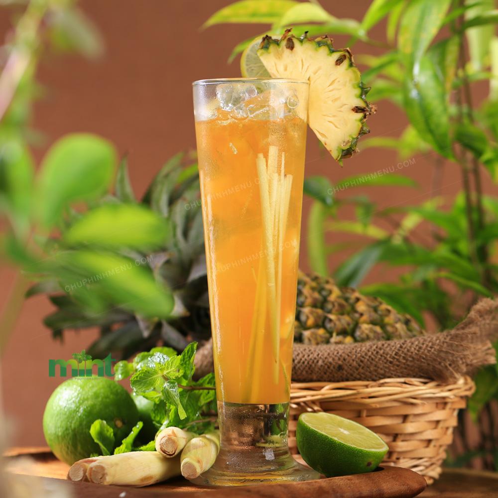 Decor đồ uống theo phong cách nhiệt đới trông thật fresh!