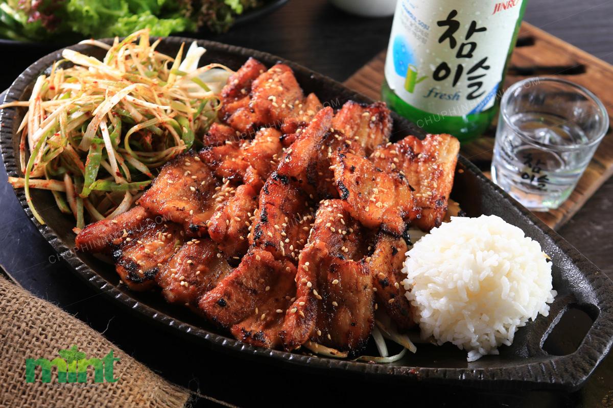 Korean Food Photography in Vietnam