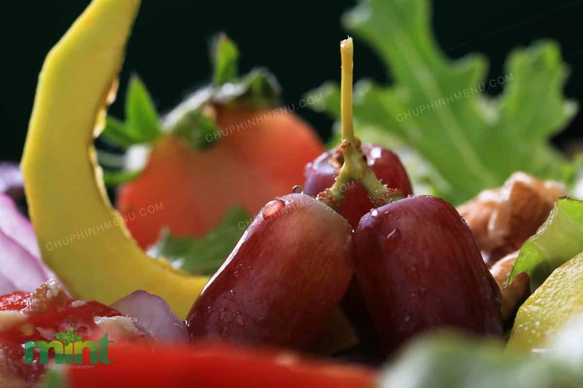 Ăn trái nho phòng ngừa tim mạch và tốt cho não bộ nha!