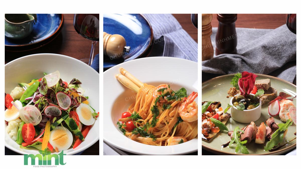 Chụp hình menu steak nhà hàng IL CORDA