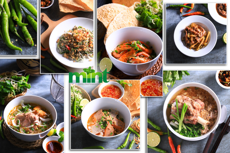 Chụp ảnh món ăn menu nhà hàng Đà Nẵng - Hội An