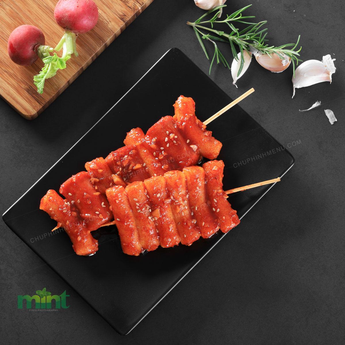 Chụp ảnh món ăn Hàn Quốc - Kobop
