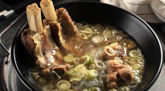 Chụp ảnh món ăn Hàn Quốc